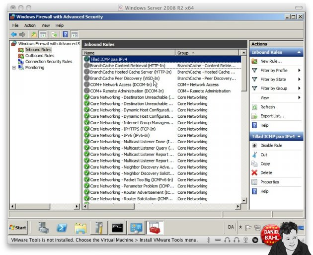 Windows Server 2008 R2 avanceret firewall