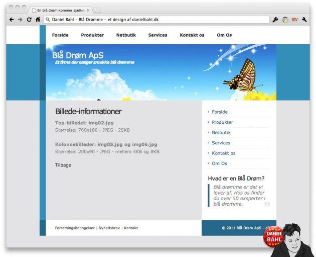 HTML Template Gratis skabelon CSS design