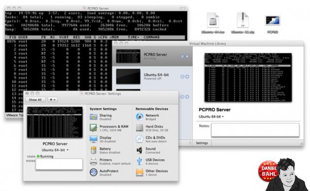 Virtuel Maskine med Linux Server Ubuntu