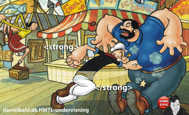 HTML Tag - Strong eller Bold
