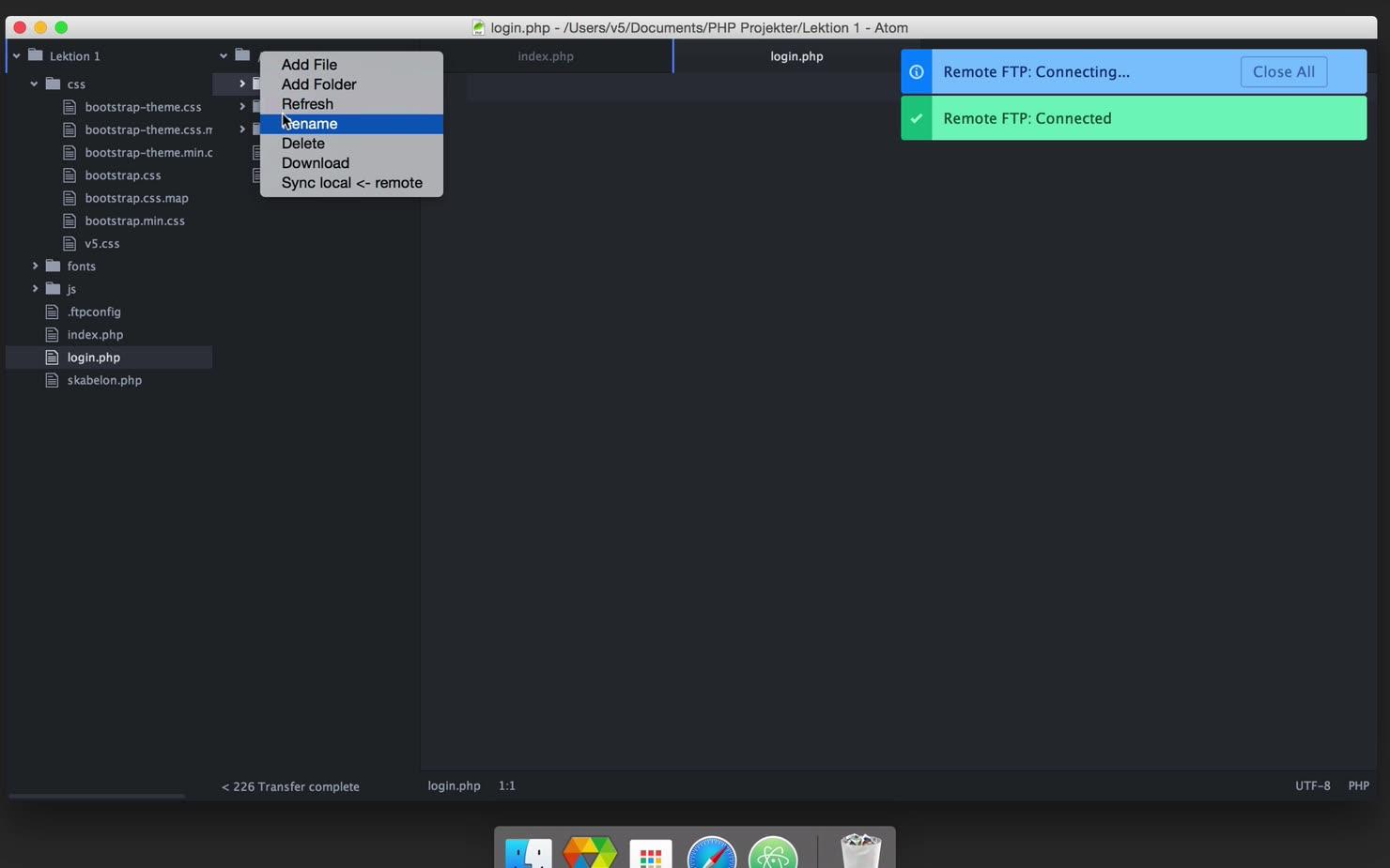 Projekt: Byg en formular i PHP - Del 2 af 3