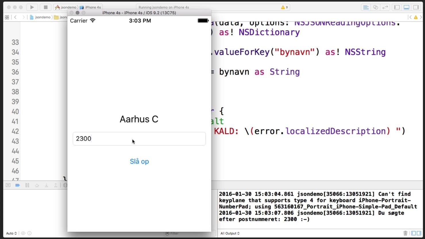NSData og JSON i Swift 2.0