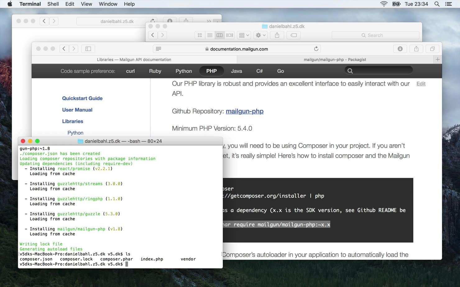 Send e-mail med PHP igennem Mailgun