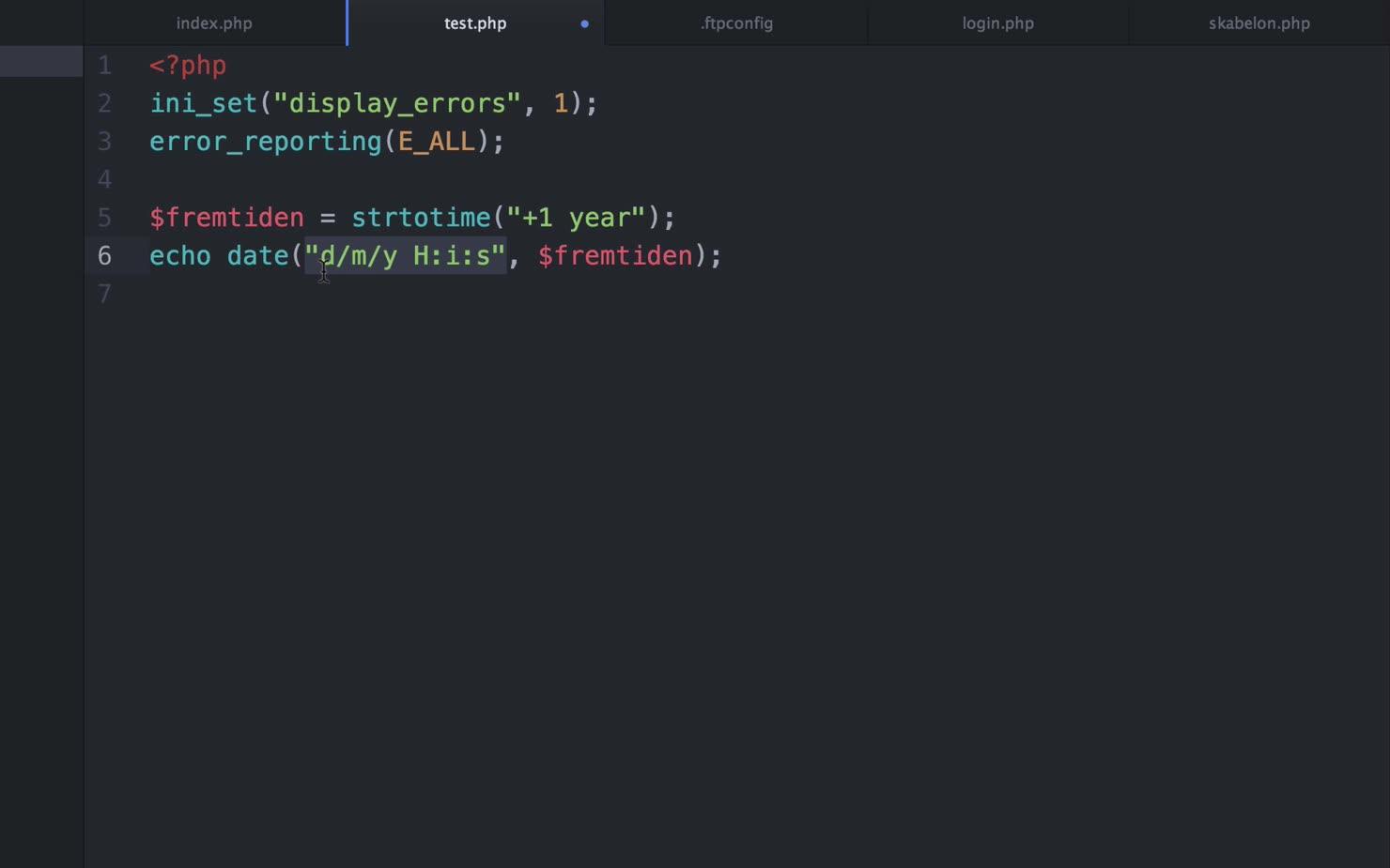 PHP, dato-håndtering og opslagsværktøj