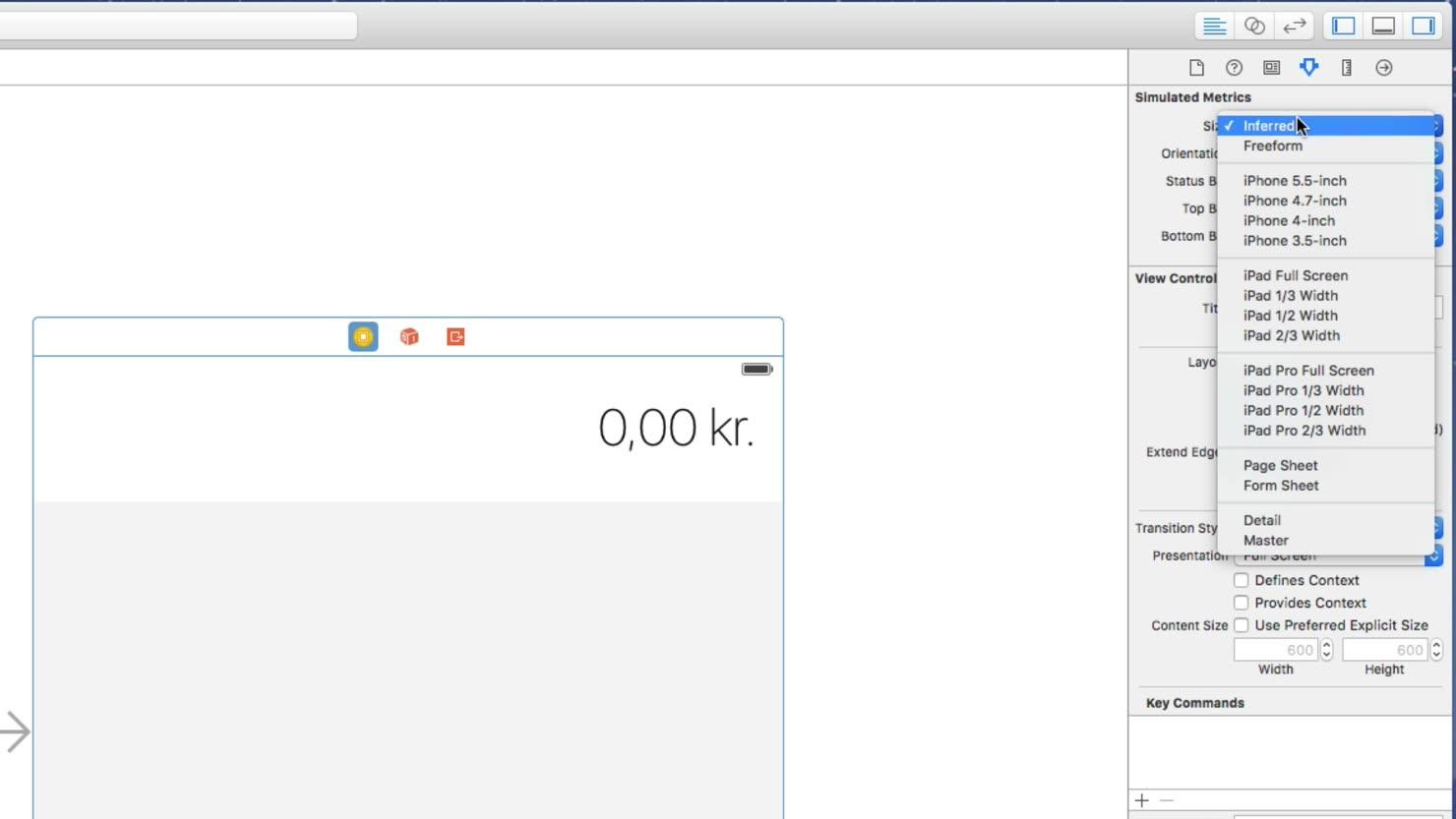 Byg et flot layout i Swift med Constraints