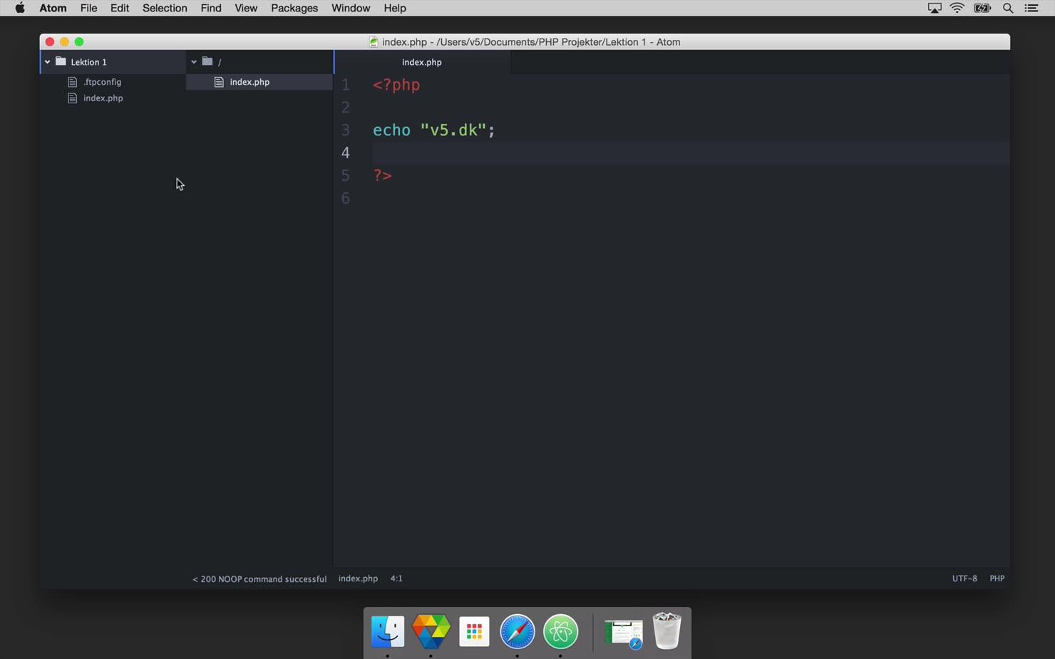 Projekt: Byg en formular i PHP - Del 1 af 3
