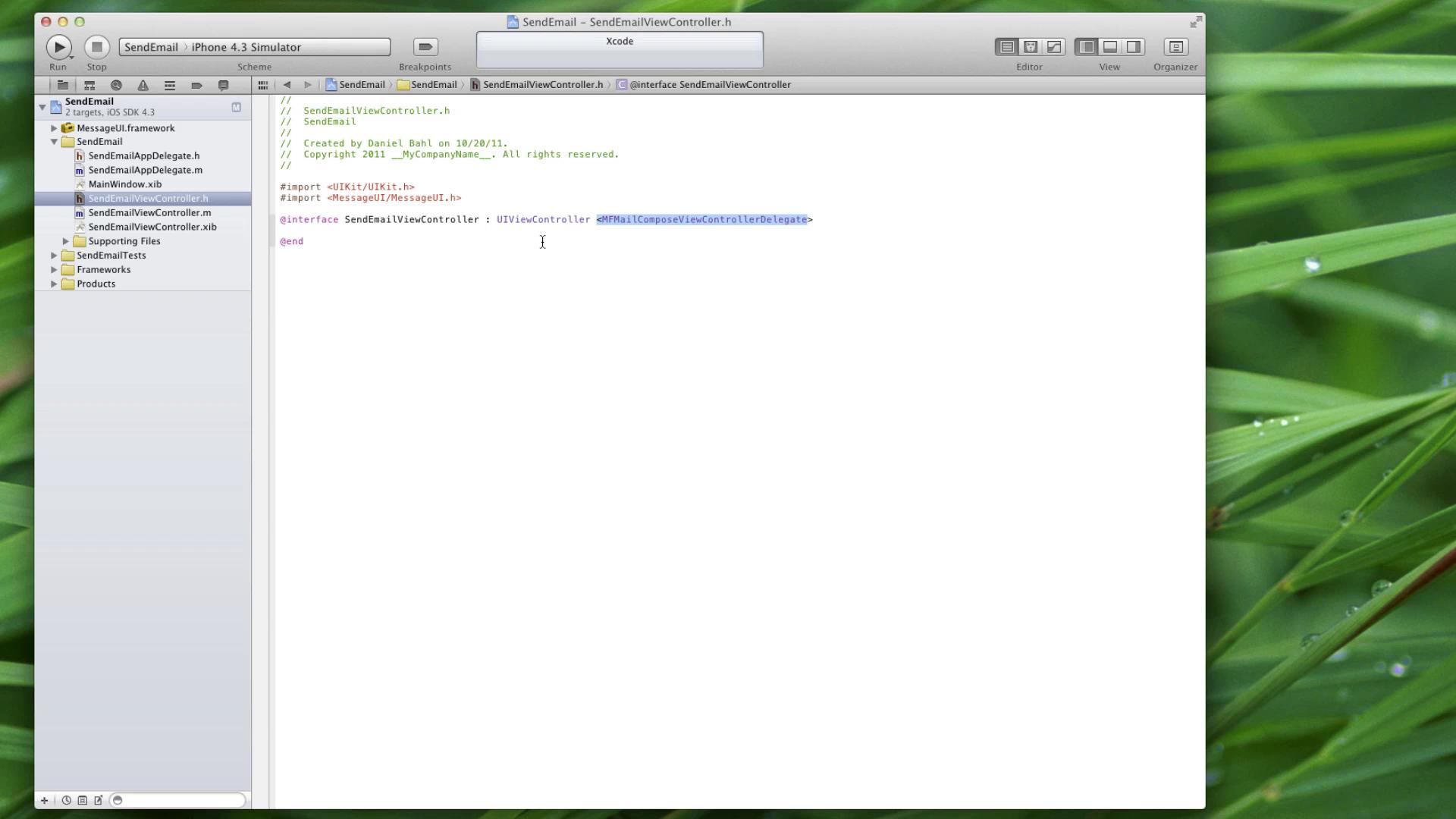 iOS: Send e-mails med iOS