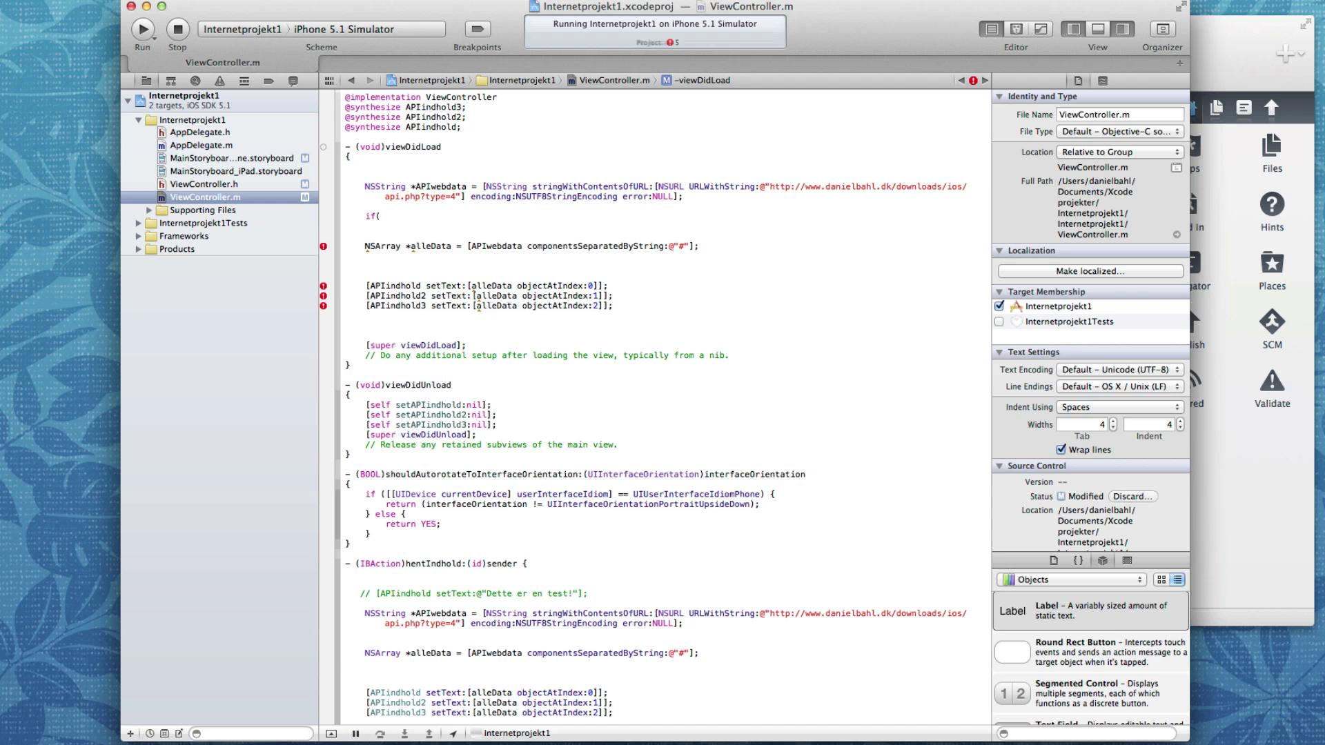iOS Case: Byg komplet App - Del 4