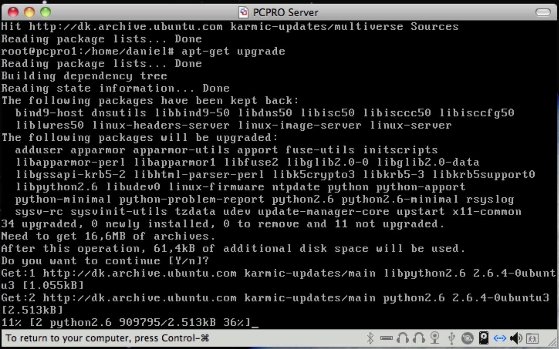 Opsæt Webserver med PHP og MySQL