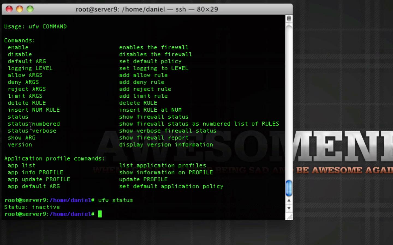 Ubuntu Firewall i Linux