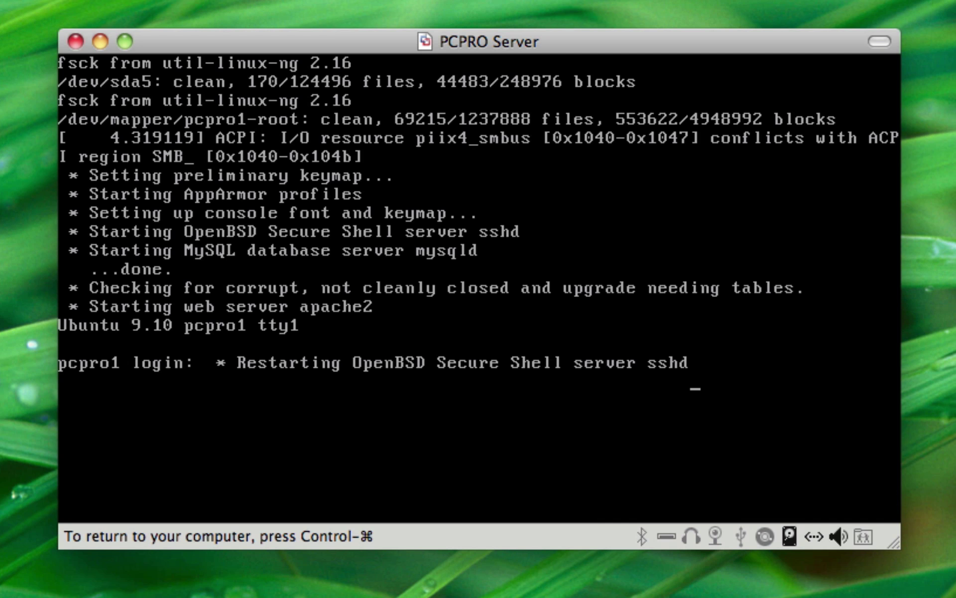 Ubuntu Kerne-opdatering
