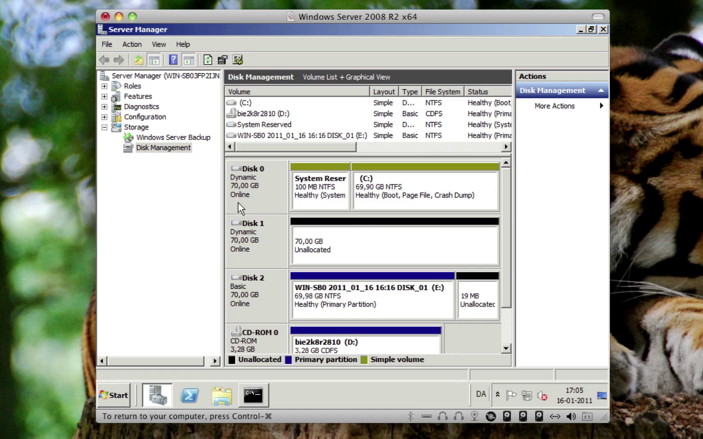Windows Server 2008 - RAID1 (Mirror/Spejl)