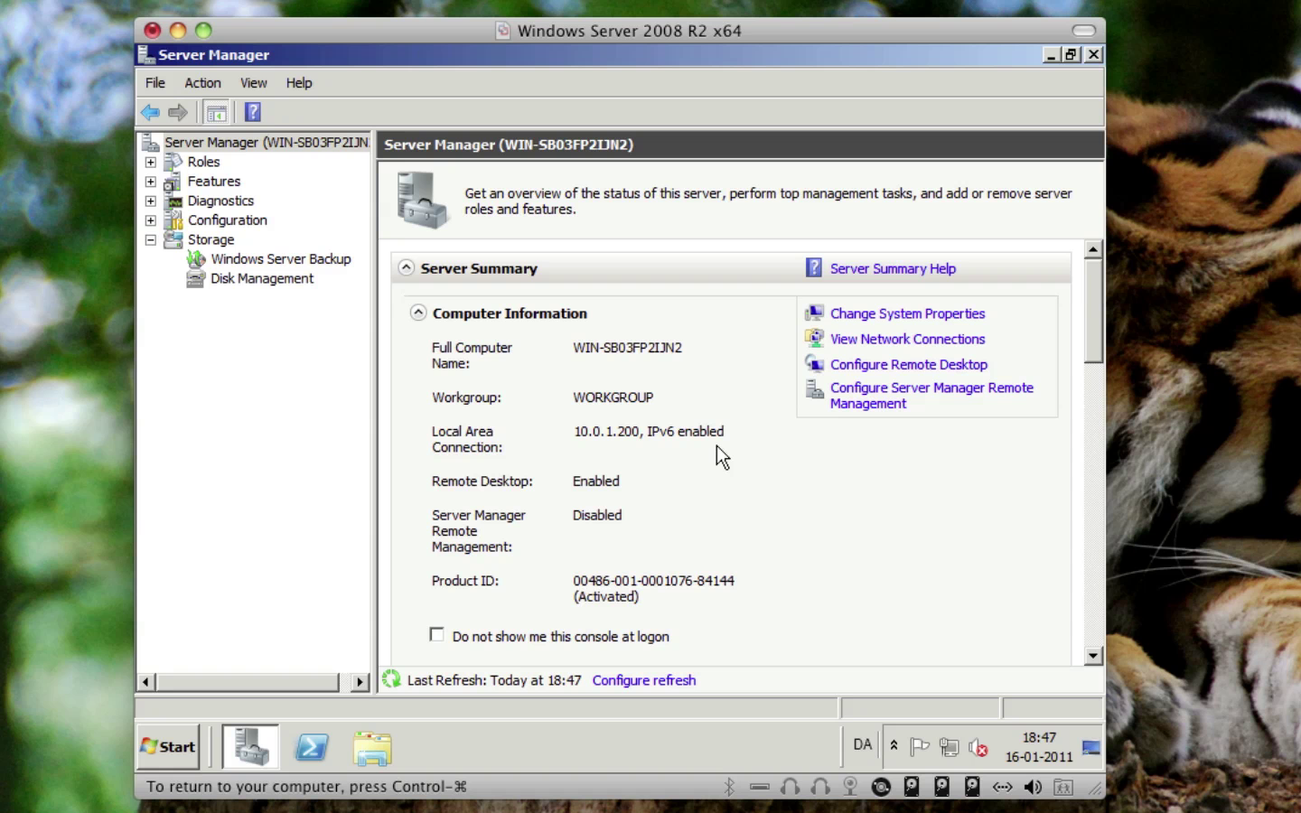 Windows Server 2008 - Remote Desktop