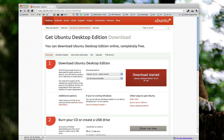 Download Ubuntu Linux Desktop