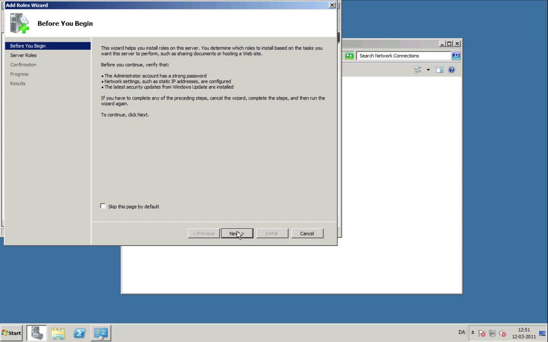 [Case] Opsæt DHCP-server og lokalt netværk